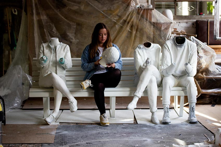 Thông điệp u ám của một tác phẩm điêu khắc - 4