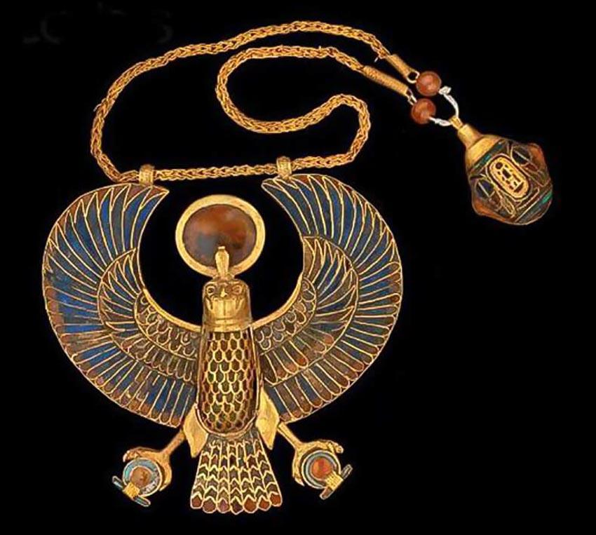 Trang sức của Ai Cập - Những ngôi cổ mộ khai quật nên trào lưu châu báu - 16