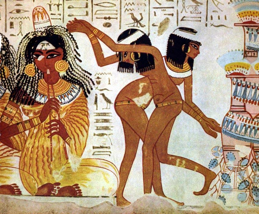 Trang sức của Ai Cập - Những ngôi cổ mộ khai quật nên trào lưu châu báu - 4
