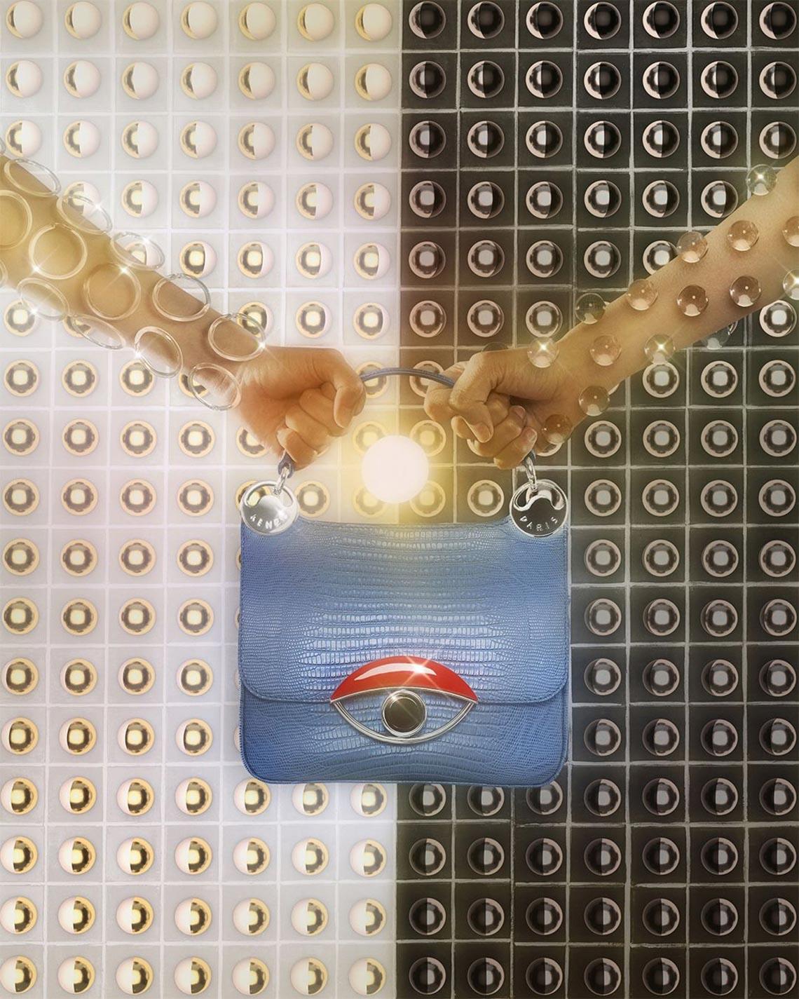 Túi xách Tali của Kenzo - 5