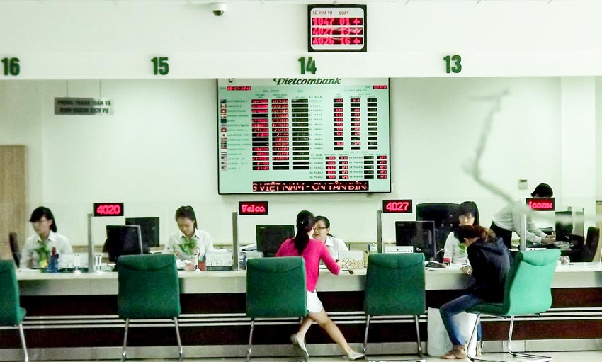 Vietcombank giảm lãi suất cho vay xuống 5,5%/năm -1