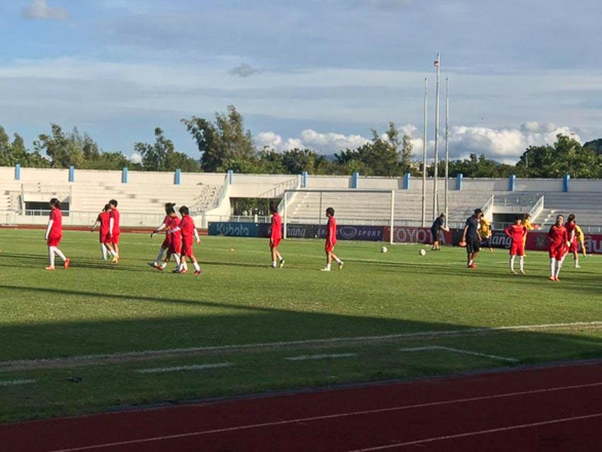 10 người Việt Nam đá bại Thái Lan, vô địch bóng đá nữ Đông Nam Á 2019 - 10
