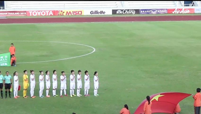 10 người Việt Nam đá bại Thái Lan, vô địch bóng đá nữ Đông Nam Á 2019 - 8