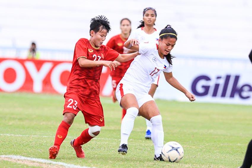 10 người Việt Nam đá bại Thái Lan, vô địch bóng đá nữ Đông Nam Á 2019 - 9