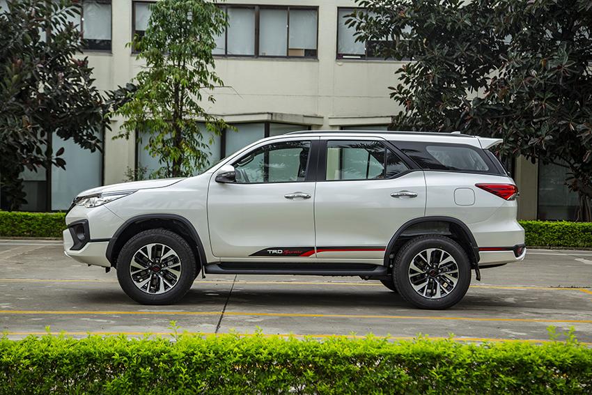 Toyota Việt Nam công bố mức giá bán lẻ mới cho mẫu xe Hilux và Fortuner TRD 2019 2