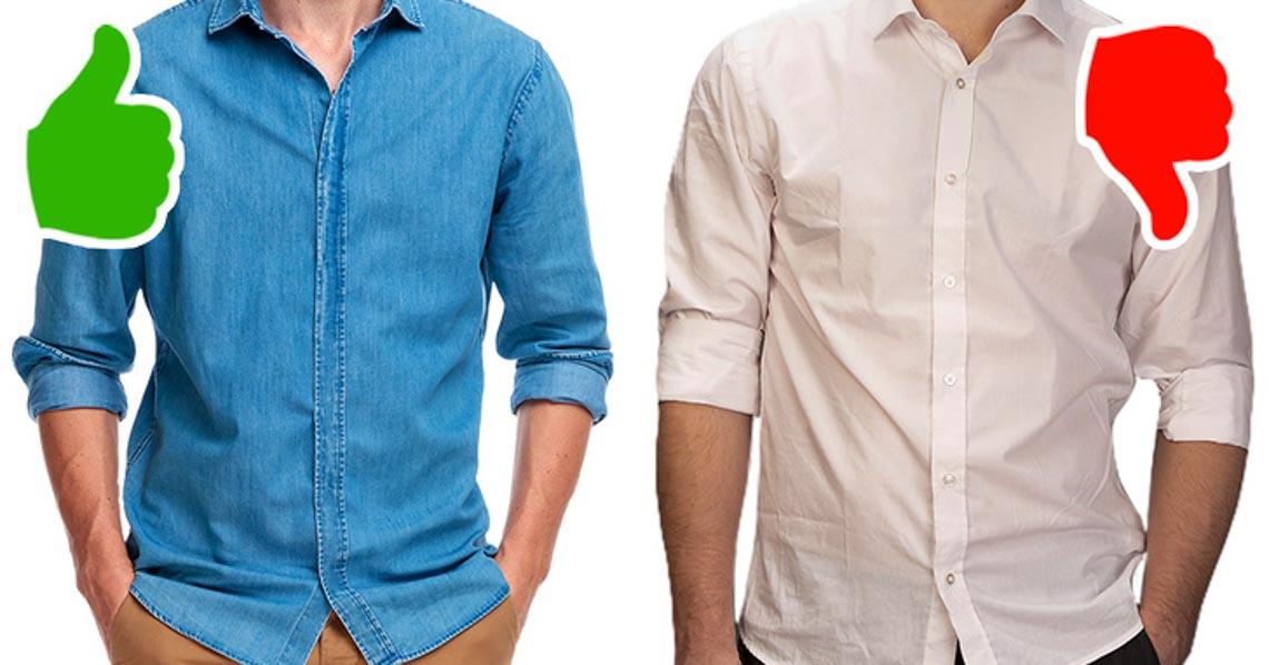 10 sai lầm khi ăn mặc của giới đàn ông - 1
