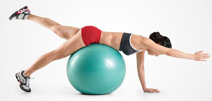 4 động tác tập với bóng Swiss giúp giữ thăng bằng và cơ bụng - 5