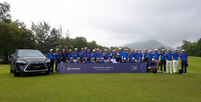 Vòng chung kết giải golf Lexus Cup 2019