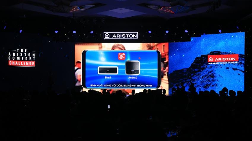 Ariston ra mắt bình nước nóng trang bị Wi-Fi đầu tiên tại Việt Nam - 2