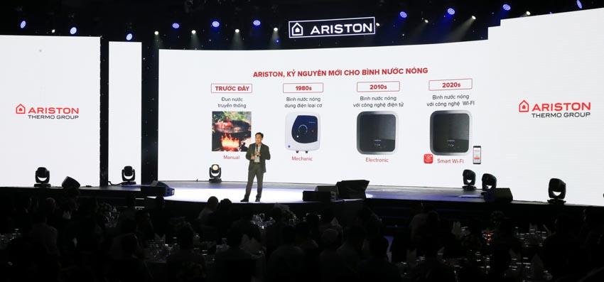 Ariston ra mắt bình nước nóng trang bị Wi-Fi đầu tiên tại Việt Nam - 3