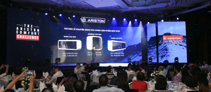 Ariston ra mắt bình nước nóng trang bị Wi-Fi đầu tiên tại Việt Nam - 4