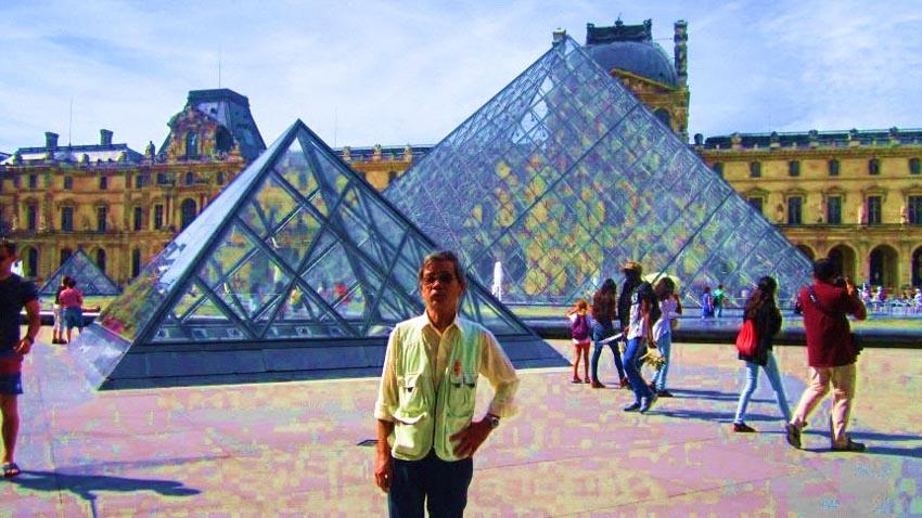 Bảo tàng Louvre ở Paris và những kiệt tác nghệ thuật thế giới - 1