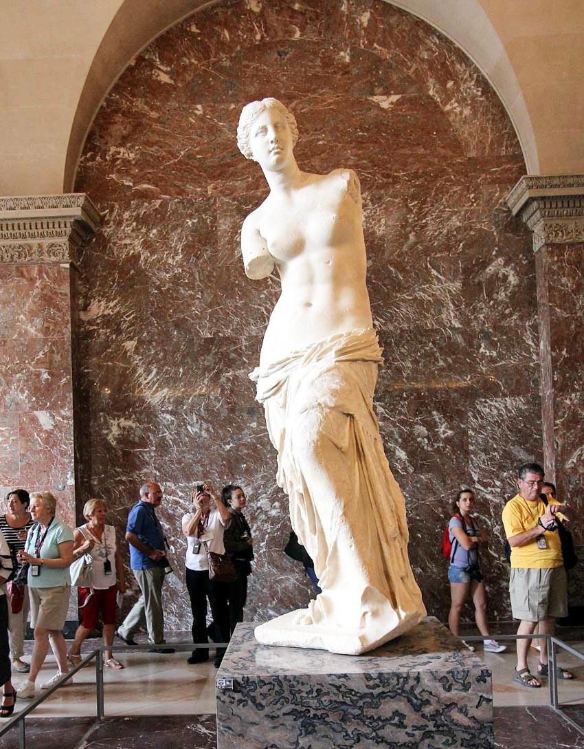 Bảo tàng Louvre ở Paris và những kiệt tác nghệ thuật thế giới - 11