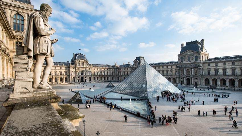 Kết quả hình ảnh cho Bảo tàng Louvre