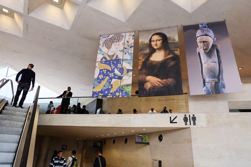 Bảo tàng Louvre ở Paris và những kiệt tác nghệ thuật thế giới - 13