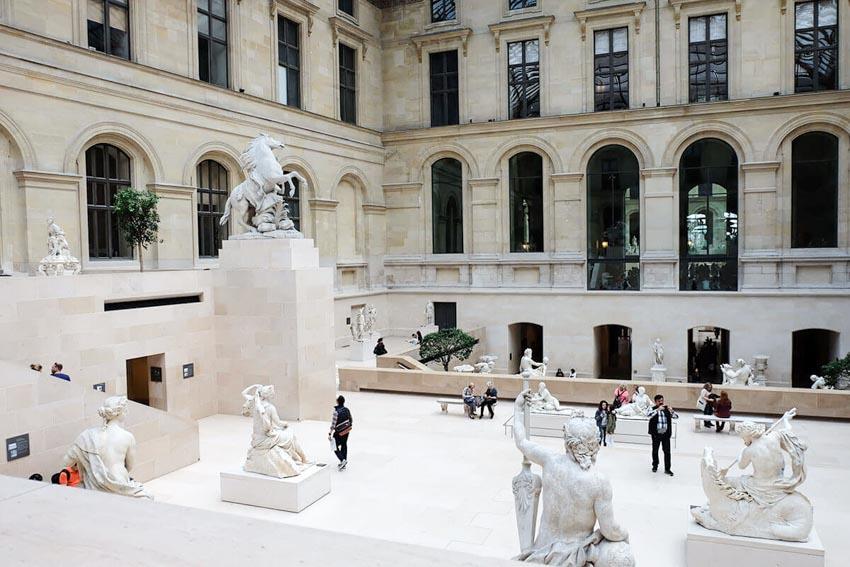 Bảo tàng Louvre ở Paris và những kiệt tác nghệ thuật thế giới - 14