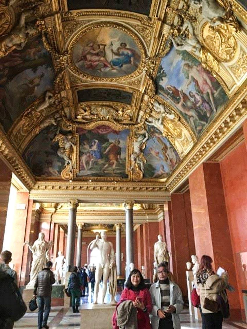 Bảo tàng Louvre ở Paris và những kiệt tác nghệ thuật thế giới - 2