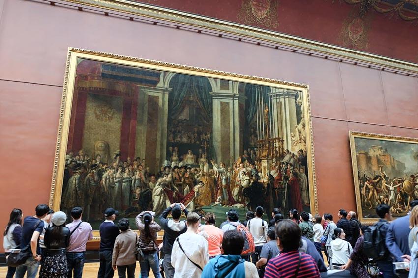 Bảo tàng Louvre ở Paris và những kiệt tác nghệ thuật thế giới - 19
