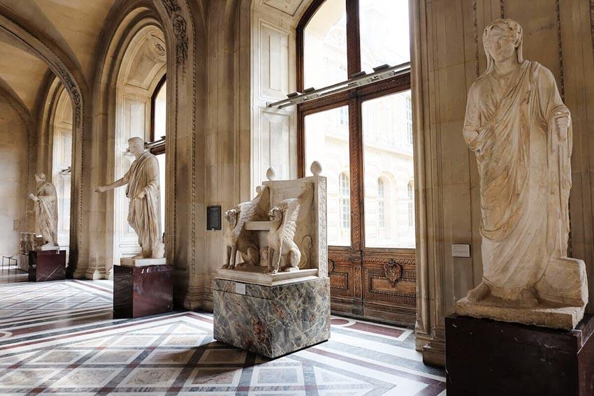 Bảo tàng Louvre ở Paris và những kiệt tác nghệ thuật thế giới - 21