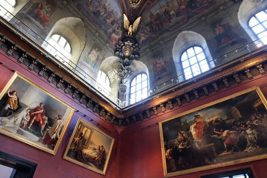 Bảo tàng Louvre ở Paris và những kiệt tác nghệ thuật thế giới - 22