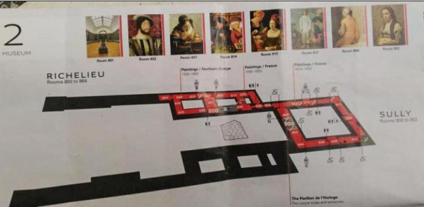 Bảo tàng Louvre ở Paris và những kiệt tác nghệ thuật thế giới - 3