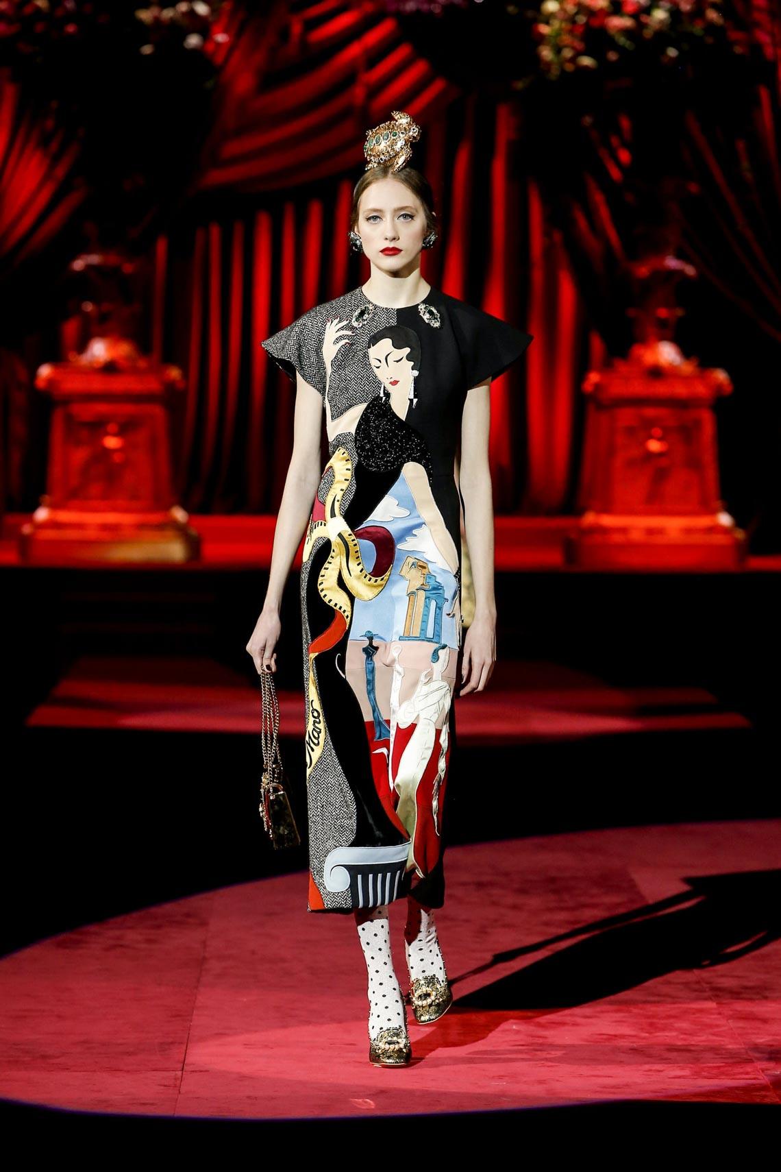 Bộ sưu tập Thu - Đông 2019 của Dolce & Gabbana: một kiệt tác đầy tinh tế - 10