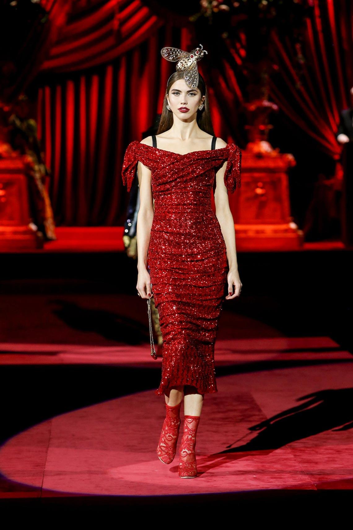 Bộ sưu tập Thu - Đông 2019 của Dolce & Gabbana: một kiệt tác đầy tinh tế - 13