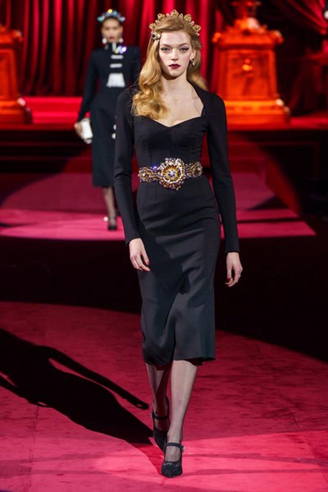 Bộ sưu tập Thu - Đông 2019 của Dolce & Gabbana: một kiệt tác đầy tinh tế - 15