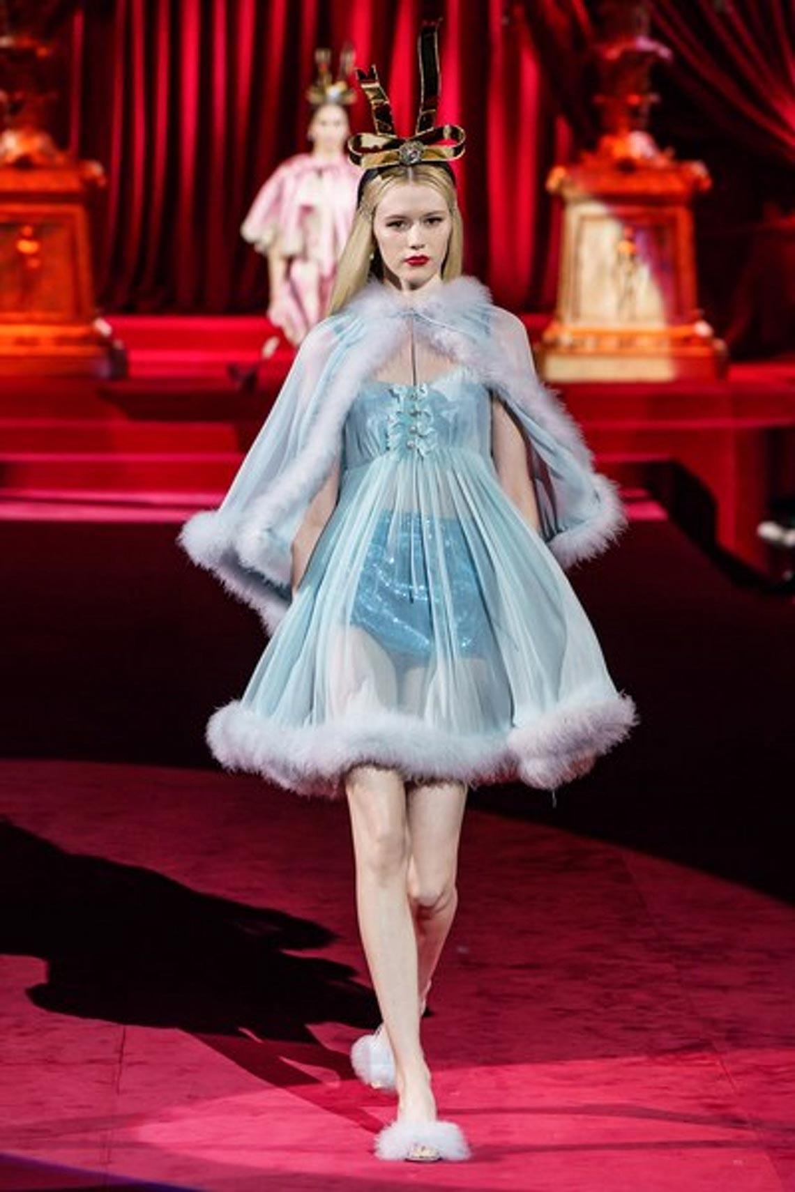 Bộ sưu tập Thu - Đông 2019 của Dolce & Gabbana: một kiệt tác đầy tinh tế - 5