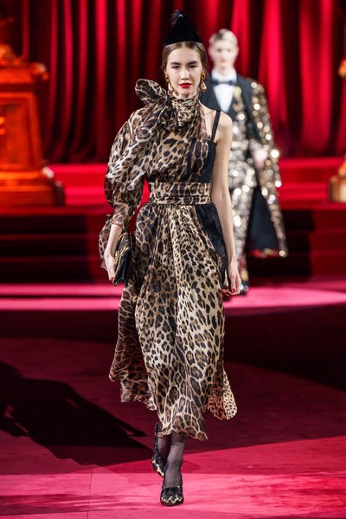 Bộ sưu tập Thu - Đông 2019 của Dolce & Gabbana: một kiệt tác đầy tinh tế - 7