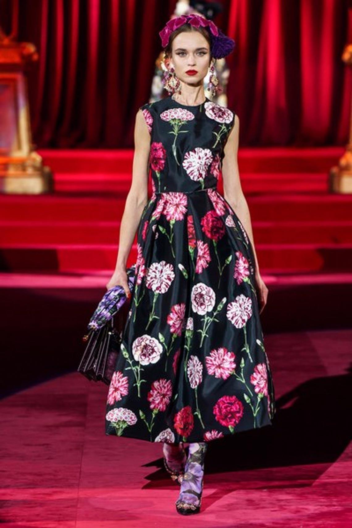 Bộ sưu tập Thu - Đông 2019 của Dolce & Gabbana: một kiệt tác đầy tinh tế - 8
