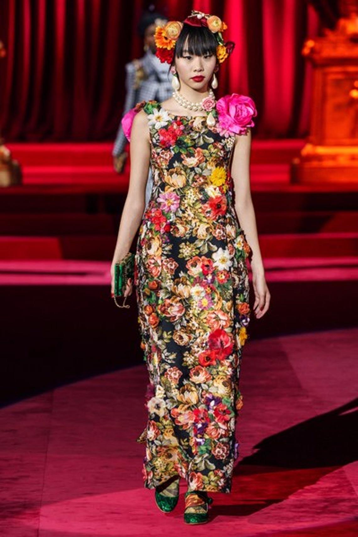 Bộ sưu tập Thu - Đông 2019 của Dolce & Gabbana: một kiệt tác đầy tinh tế - 9