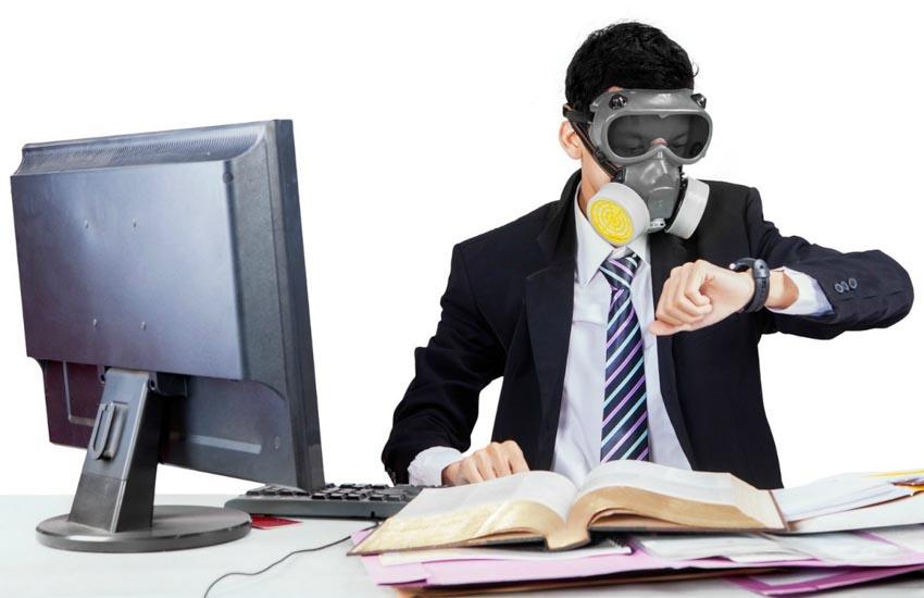 Cảnh báo mới về ô nhiễm không khí trong môi trường văn phòng -13
