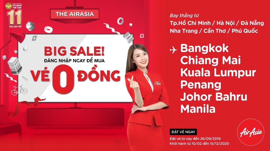 Chương trình khuyến mãi trong tuần airasia