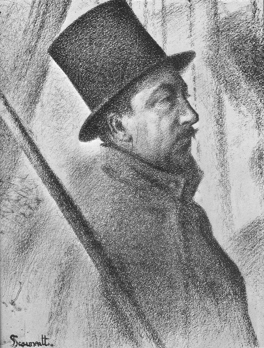 Chuyện ly kỳ về một bức tranh phác thảo của George Seurat - 7