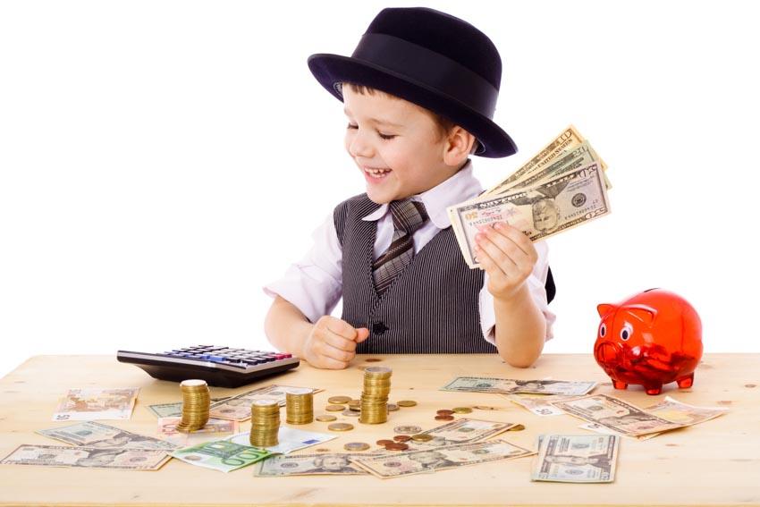 Dạy con biết giá trị của lao động và đồng tiền - 1