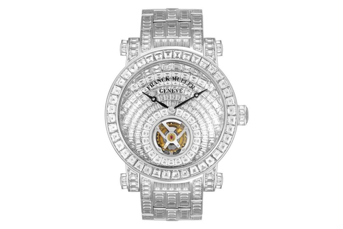 Siêu phẩm Franck Muller Tourbillon Invisible Set Baguette Diamonds trị giá 30 tỉ đồng lần đầu đến Việt Nam - 5