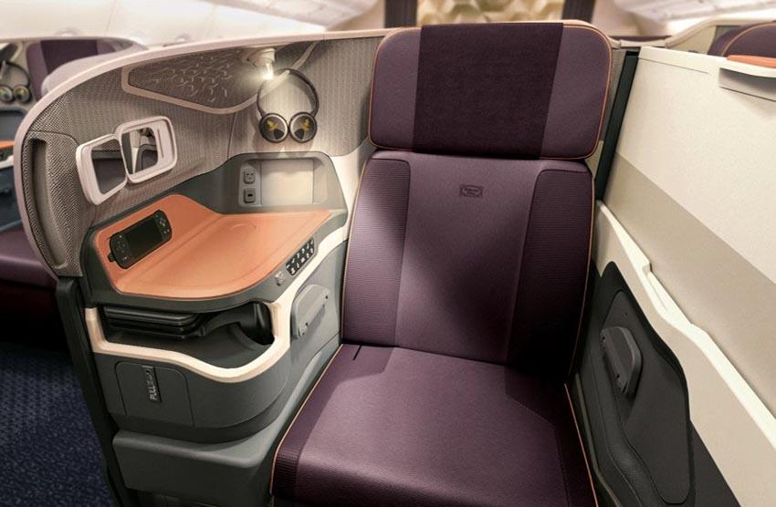 6 loại ghế ngồi hạng thương gia tuyệt vời nhất của các hãng hàng không thế giới - 1