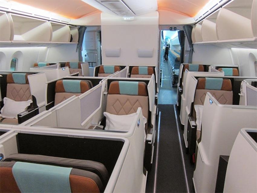 6 loại ghế ngồi hạng thương gia tuyệt vời nhất của các hãng hàng không thế giới - 2