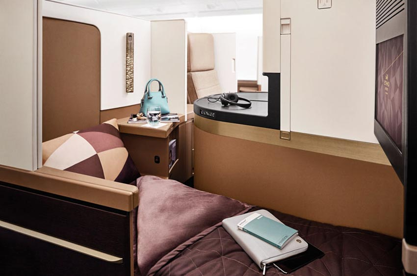 6 loại ghế ngồi hạng thương gia tuyệt vời nhất của các hãng hàng không thế giới - 4