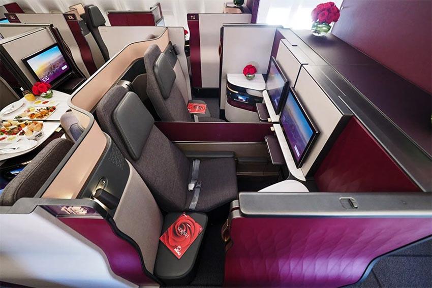 6 loại ghế ngồi hạng thương gia tuyệt vời nhất của các hãng hàng không thế giới - 6