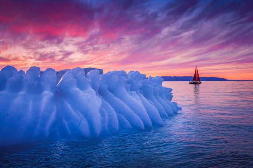 Ngắm hòn đảo Greenland đẹp mê ly nhưng có thể sớm mất vĩnh viễn - 7