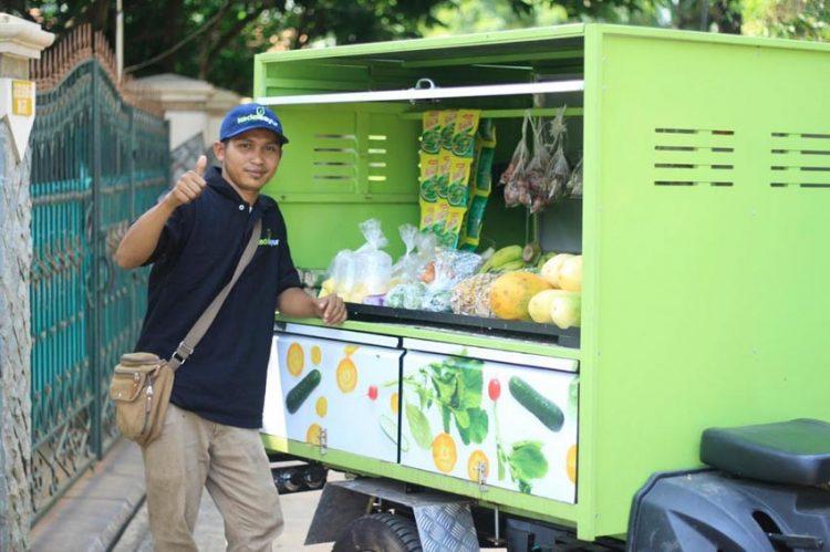 Kedai Sayur - mua bán nông sản tươi qua ứng dụng và xe bán hàng rong - 2