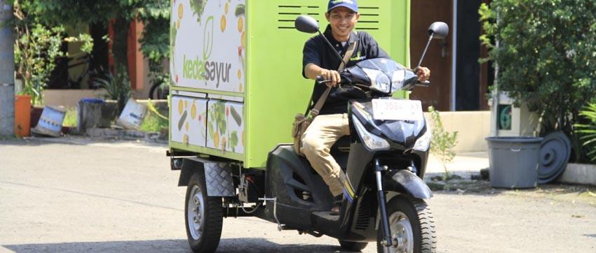 Kedai Sayur - mua bán nông sản tươi qua ứng dụng và xe bán hàng rong - 3