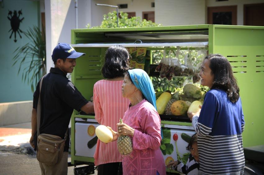 Kedai Sayur - mua bán nông sản tươi qua ứng dụng và xe bán hàng rong - 4