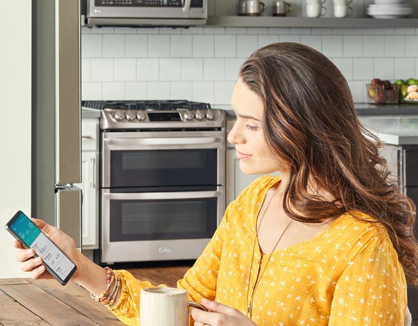 LG giới thiệu công nghệ nhận dạng giọng nói thông qua ứng dụng di động ThinQ tại IFA 2019 - 5