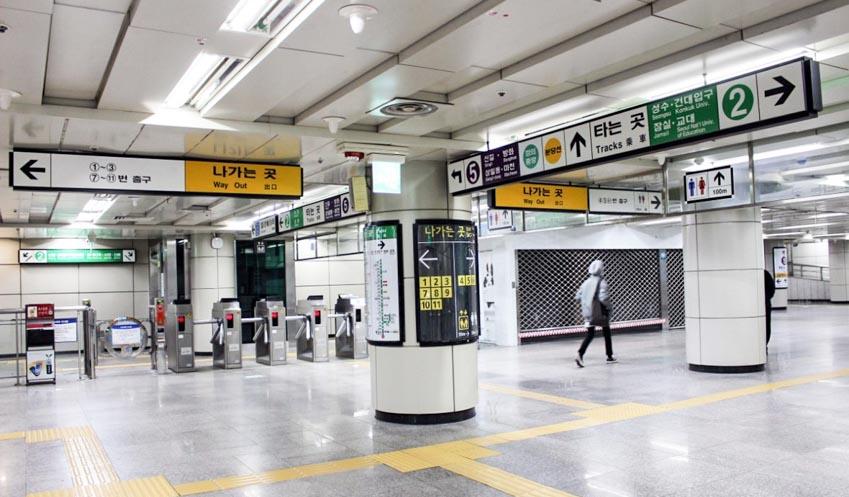 Lưu ý khi sử dụng tàu điện ngầm Hàn Quốc - 4