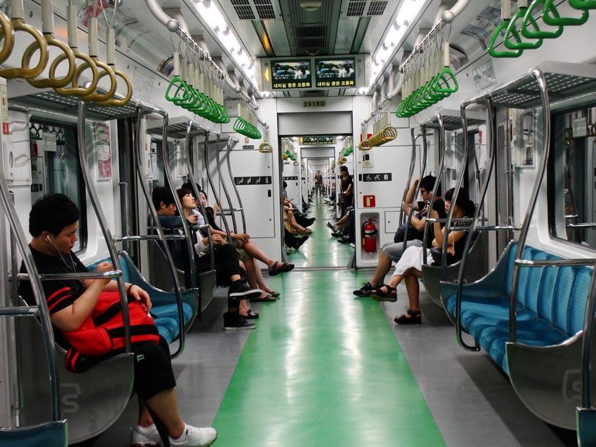 Lưu ý khi sử dụng tàu điện ngầm Hàn Quốc - 7
