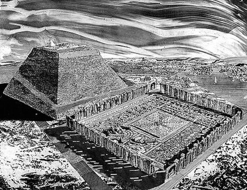 Mê cung khổng lồ bị thất lạc của Ai Cập - 2