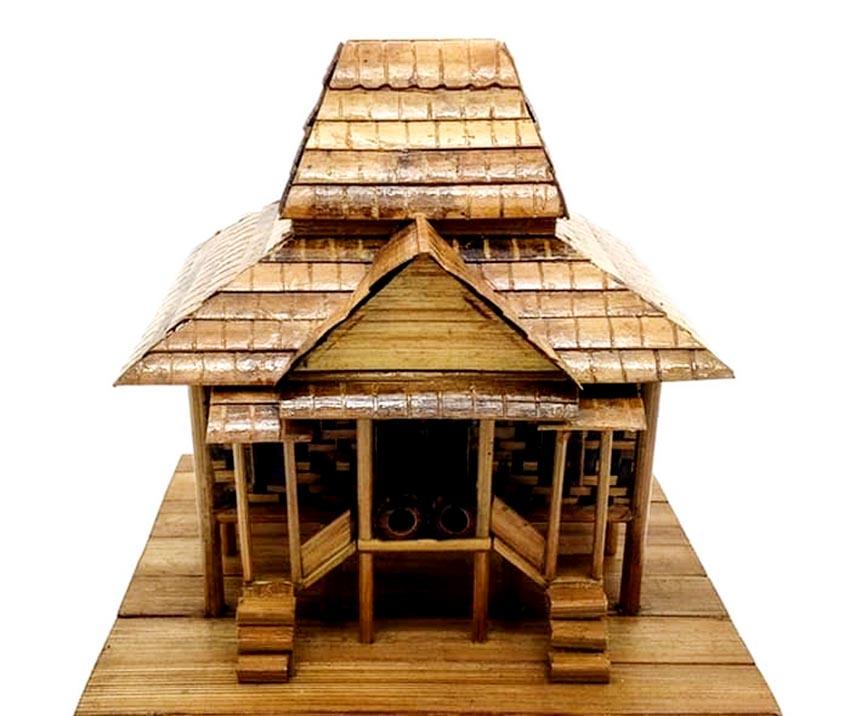 Đa dạng nhà gỗ truyền thống Indonesia - 1